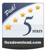 Awarded 5/5 Stars On The FlexDownload